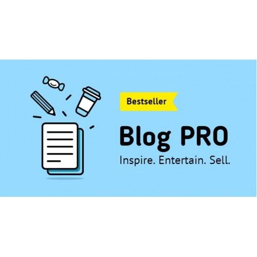 Лучший модуль блога Blog Module PRO для Opencart 2.x [OCMOD]