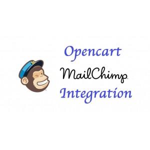 Opencart 3x Mailchimp Integration - модуль интеграции с сервисом рассылки MailChimp - [OCMOD]