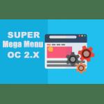 Модуль Super Mega Menu - горизонтальное меню Opencart 2.x [OCMOD]