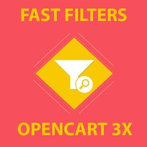 FastFilter - быстрое добавление фильтров в категории Opencart 3x [OCMOD]