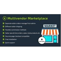 Multivendor Marketplace / Мультимагазин - Opencart 3.x [OCMOD]
