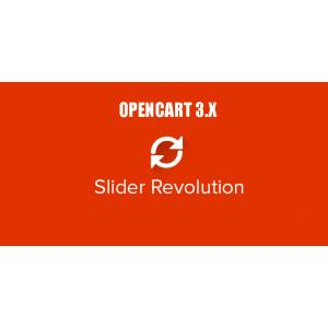Revolution Slider - многофункциональный слайдер для Opencart 3.x