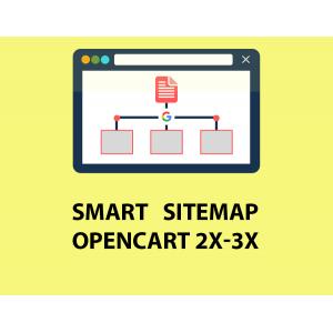 Модуль Smart Sitemap - Умная генерация карты сайта для Opencart 2/3 [OCMOD]